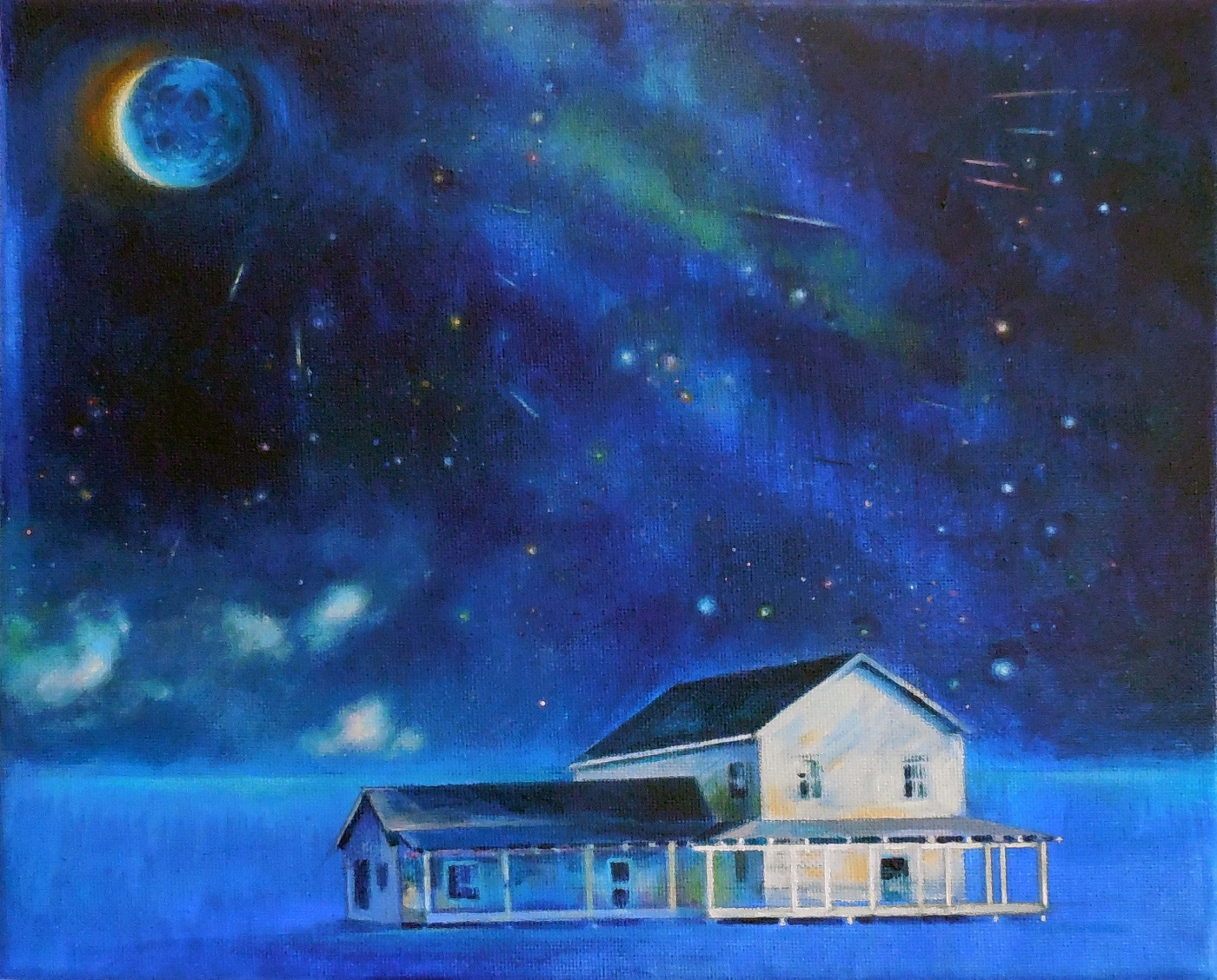 Luna azul II